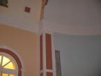 Egyedi díszítésű templom