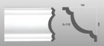 Beltéri polisztirol díszléc A-110 képe