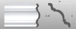 Beltéri polisztirol díszléc A-30 képe