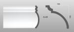 Beltéri polisztirol díszléc A-40 képe