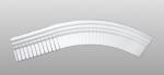 C-70 kültéri polisztirol belső ívre hajlítható íves léc