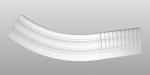 C-80 kültéri polisztirol külső ívre hajlítható íves léc