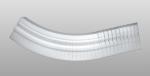 C-10 kültéri polisztirol külső ívre hajlítható íves léc képe